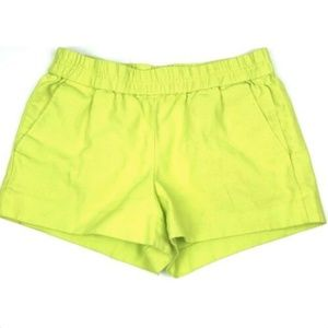 J. Crew Factory Neon Green Boardwalk Shorts